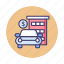 assets, building, car, office icon