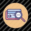 credit card, cvv, debit card, password, pin icon