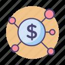 crowdfunding, funding, lending, p2p, p2p lending icon