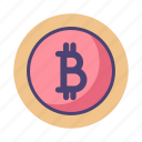bitcoin, blockchain, crypto, cryptocurrency icon