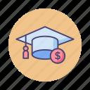 education, education funding, education funds, education savings, savings icon