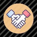 agreement, deal, handshake, partnership, shake hands icon