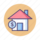home, home loan, home mortgage, house, house loan, house pricing, mortgage icon