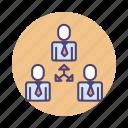 lending, p2p, p2p lending, peer, peer to peer, team, teamwork icon