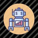 advisor, robo, robo advisor, robot, robotics