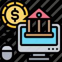 online, banking, money, transaction, financial