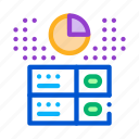 bitcoin, data, financial, fintech, long, outlie, storage icon
