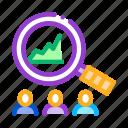 bitcoin, growth, innovation, profit, study, upward icon