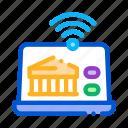 device, distribution, fi, fintech, innovation, through, wi icon