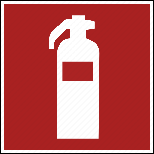 extinguisher, fire, flame, iso, off, protect, secure icon