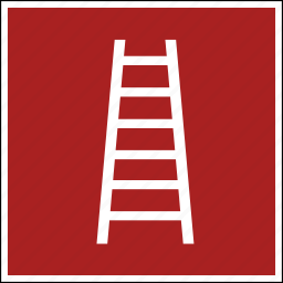 escape, iso, scale, stair, staircase, stairs, stairway icon