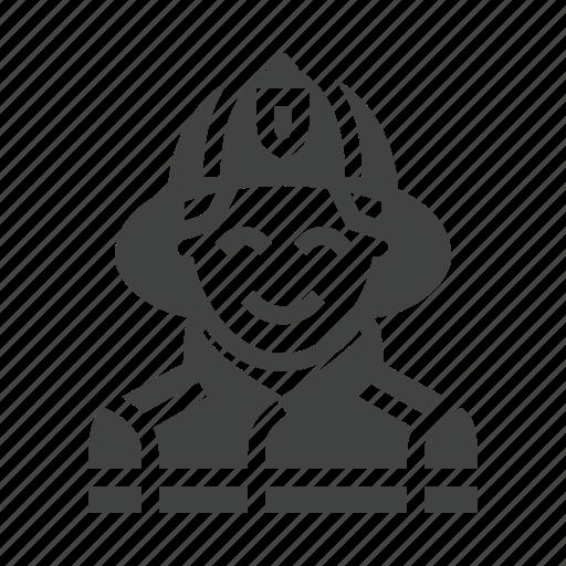 avatar, fire, firefighter, fireman icon
