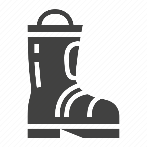 boots, fire, safety icon