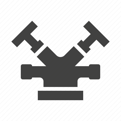 fire, sprinkler, water icon