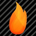 computer, flame, frame, warning