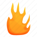 frame, fire, flame, texture