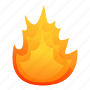 computer, fire, flame, globe
