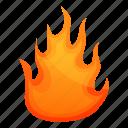bonfire, business, computer, flame, frame