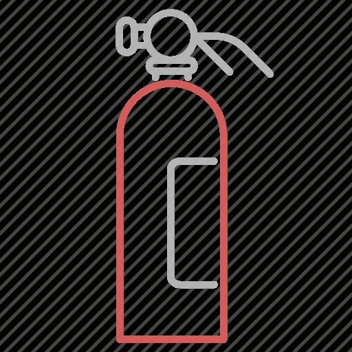 equipment, extinguisher, fireman, tool icon