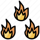 burning, danger, element, fire, flame, nature, security