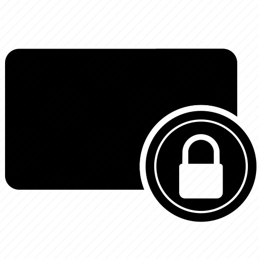Card, credit, lock, safety, security icon - Download on Iconfinder