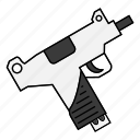 firearm, gun, handgun, pistol icon
