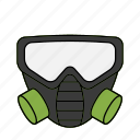 gas, mask, poison, swat icon