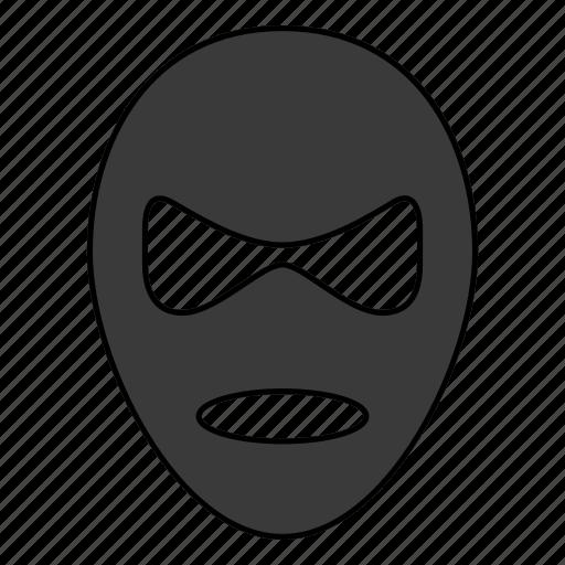 criminal, mask, terrorist, villain icon