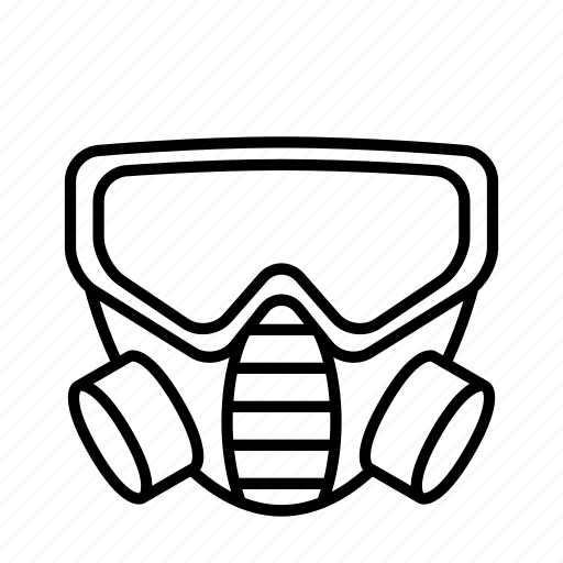 Gas, mask, petrol, poison icon - Download on Iconfinder
