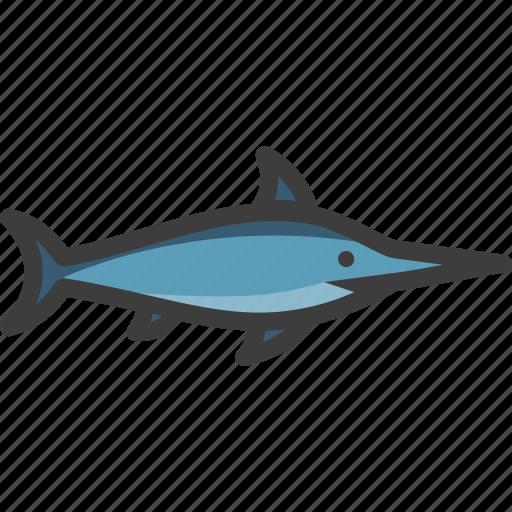 billfish, marlin, swordfish icon