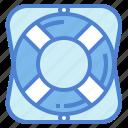 help, lifebuoy, lifesaver, security icon
