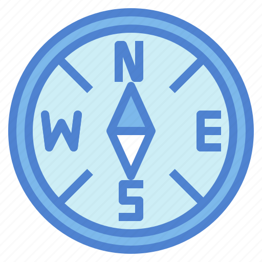 compass, direction, maps, travel icon