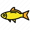 fish, fisherman, fishing, sport, water icon