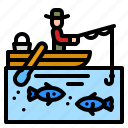 boat, rowing, transportation, ship, training