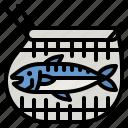 fishing, fish, net, fisher, river