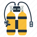 adventure, aqualung, balloon, beach, breathing, clamp, color, compressor, deep, depth, design, device, diver, diving, element, equipment, extreme, fishing, flat, graphic, isolated, leisure, life, logo, marine, nautical, ocean, outfit, oxygen, pressure, scuba, sea, sign, single, sport, style, swim, swimming, symbol, tourism, tube, ui, underwater, vacation, valve, vector, water, white