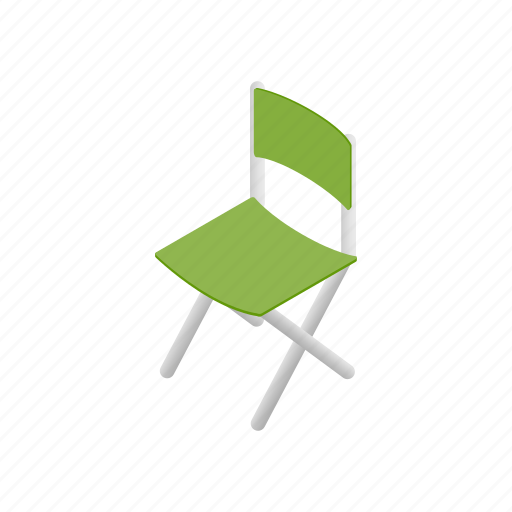 apartment, armchair, cafe, chair, comfortable, green, isometric icon