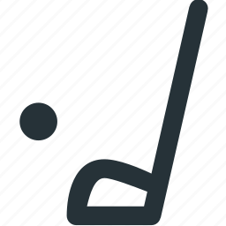 equipment, golf, outdoors, sports, stick icon