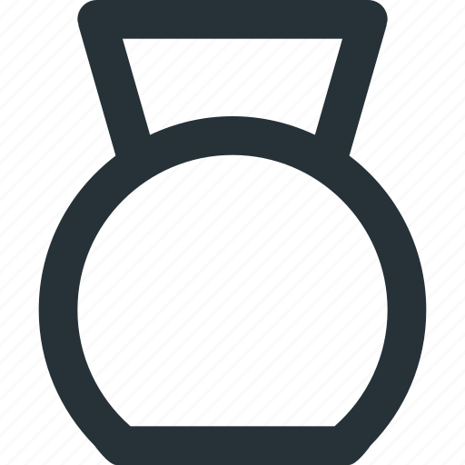 fitness, gym, kettlebell, tool, workout icon