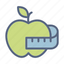 apple, fitness, gym, health, healthy, sport, yoga icon