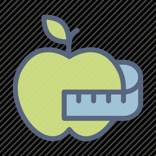 apple, fitness, gym, health, healthy, sport, yoga icon