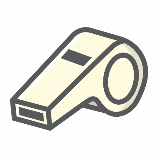 fitness, game, judge, referee, sport, tool, whistle icon