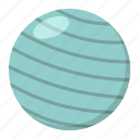 ball, exercise, fit, fitness, gym, rubber, sport icon
