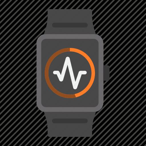 app, fitness, heart, smart, sport, tracker, watch icon