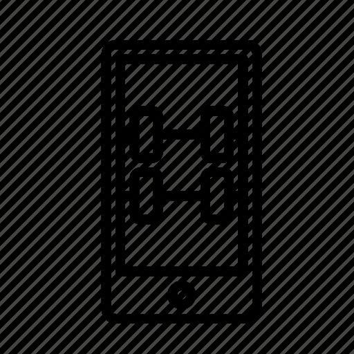 phonedumbells icon
