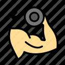 muscledumbellspull icon