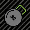 weightround icon