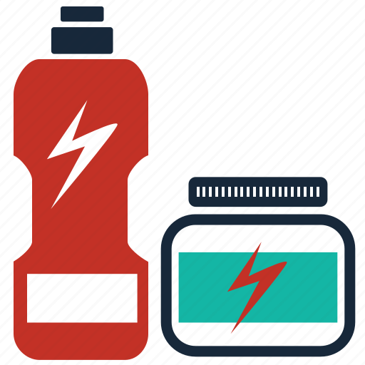 bottle, energy, fitness, gym, muscle, steroids, vitamin icon