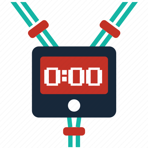 chronometer, clock, countdown, pulse, stopwatch, time, timer icon