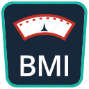 bmi, body mass index, fitness, health, scales, sport, weight icon
